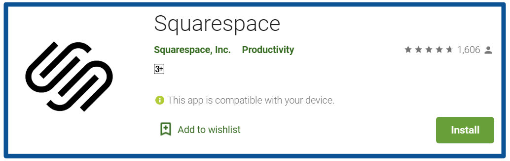 top blogging apps-squarespace--Android-Apps-on-Google-Play