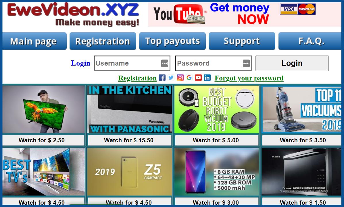 ewevideon-xyz-homepage-