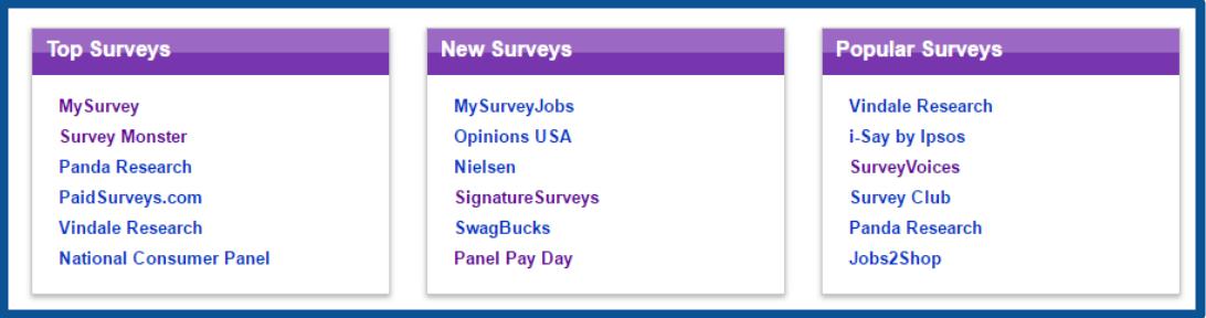 review-SurveySheep-list of surveys-