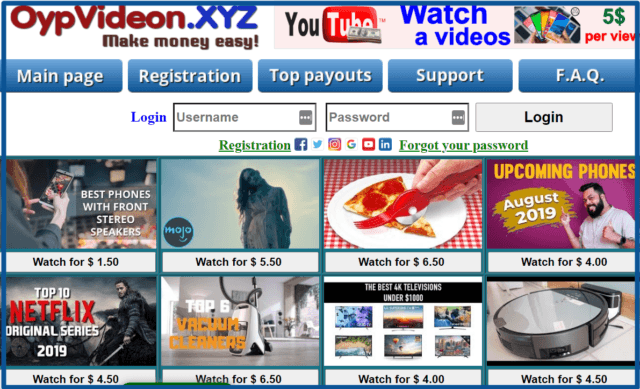 review-oypvideon-xyz-homepage-