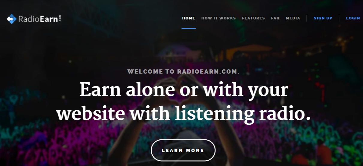 RadioEarn-com _homepage