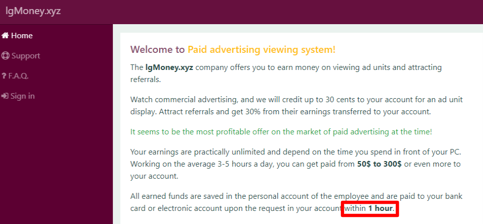 The-site-of-paid-watching-ads-lgmoney-xyz-Home