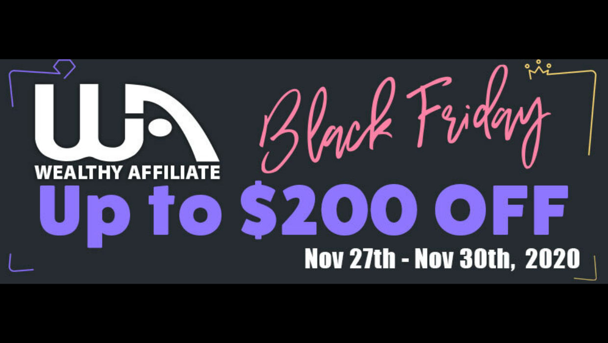 WA-Black Friday Promotion