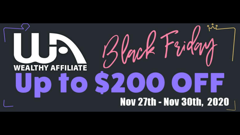 WA-Black Friday Promotion