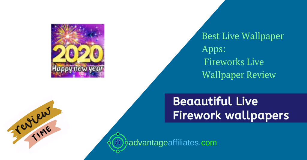 Best Apps For New Year Live Wallpapers-Fireworks Live Wallpaper Feature Image
