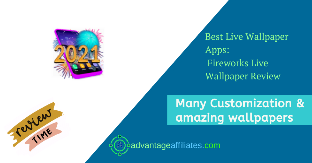 Best Apps For New Year Live Wallpapers- Fireworks Live wallpaper Feature Image