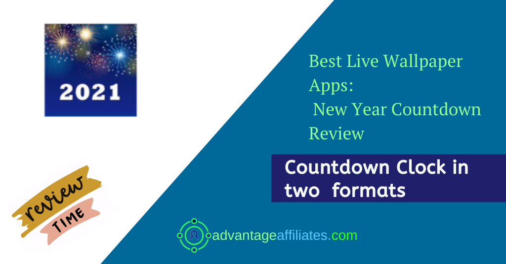 Best Apps For New Year Live Wallpapers-countdown clock Feature Image