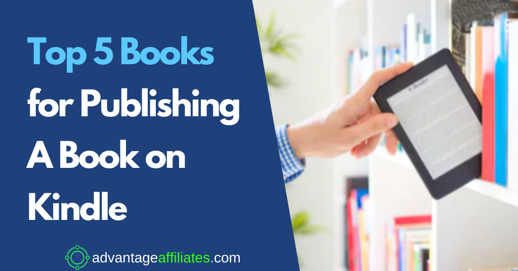 Feature Image-top 5 books for publishing on kindle