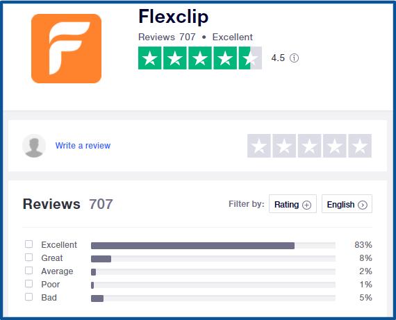 Flexclip Reviews online