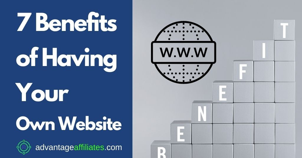 Feature Image 7 benefits of having your own website
