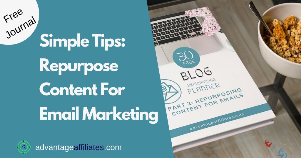 Feature Image Repurpose content for Email Marketing